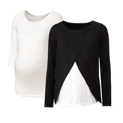 Photo of تی شرت بارداری اسمارا کد mesb050 مجموعه دو عددی