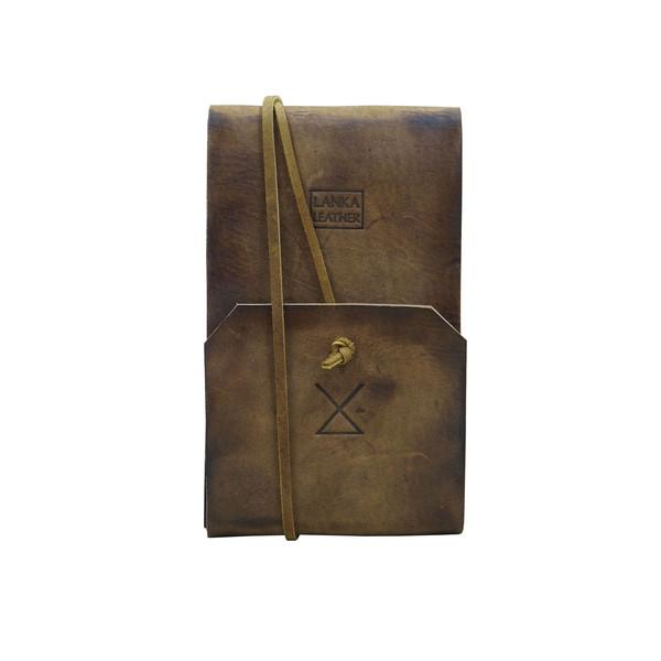 دفترچه یادداشت چرم لانکا مدل NB-1