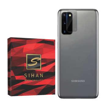 محافظ لنز دوربین سیحان مدل GLP مناسب برای گوشی موبایل سامسونگ Galaxy S20