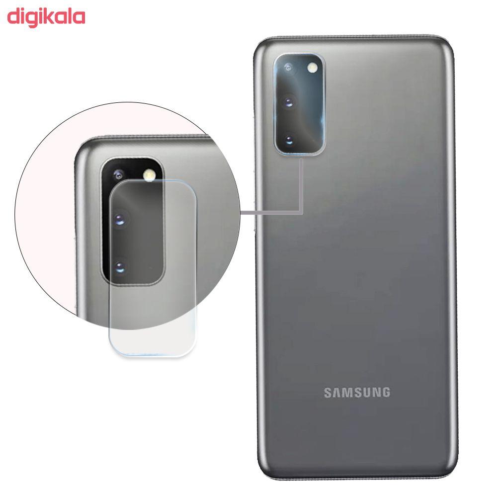 محافظ لنز دوربین سیحان مدل GLP مناسب برای گوشی موبایل سامسونگ Galaxy S20 main 1 2