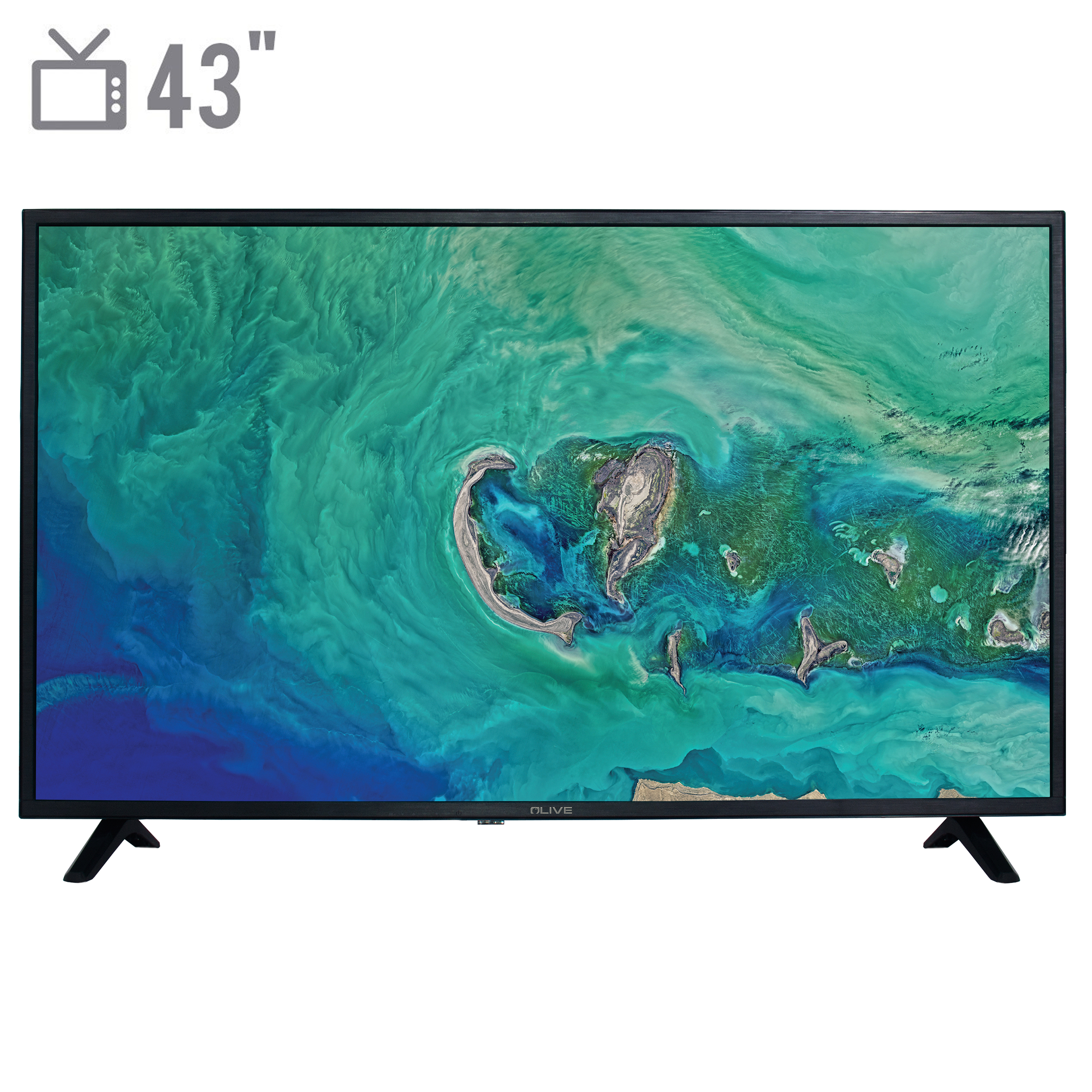 تلویزیون ال ای دی الیو مدل 43FA4410 سایز 43 اینچ