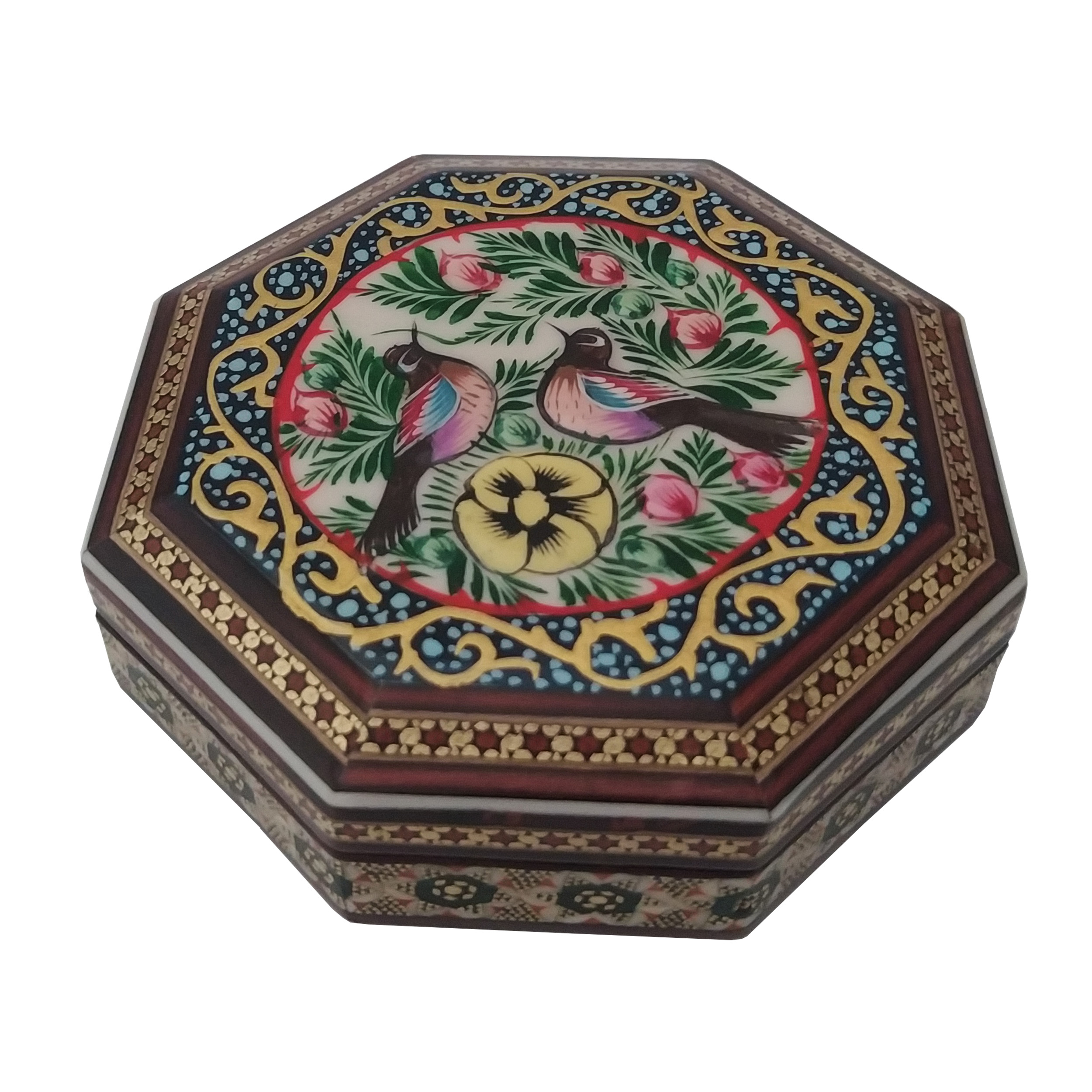 Inlay handicraft casket, BLOL-8 Model