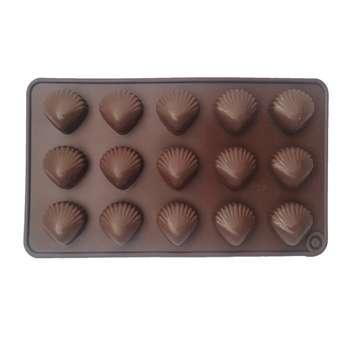 قالب شکلات طرح صدف کد n01