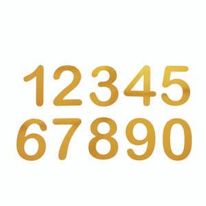 تابلو نشانگر طرح شماره واحد مجموعه 10 عددی