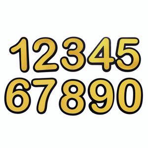 تابلو نشانگر  طرح شماره واحد مدل b2 مجموعه 10 عددی