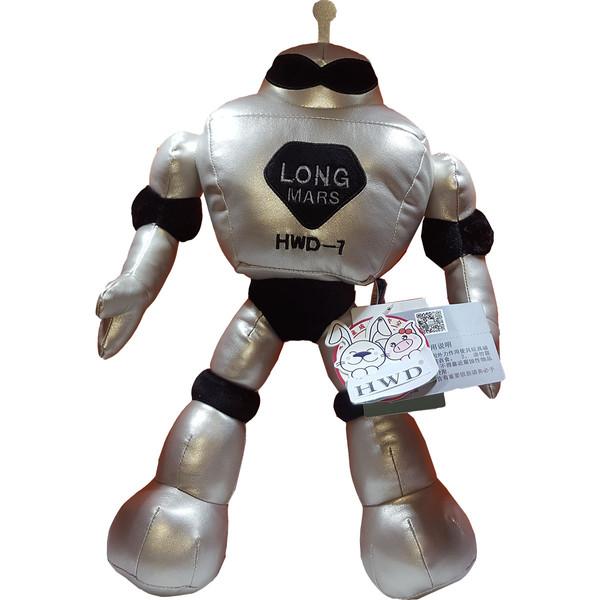 عروسک اچ دبلیو دی طرح آدم فضایی ارتفاع ۳۵ سانتی متر