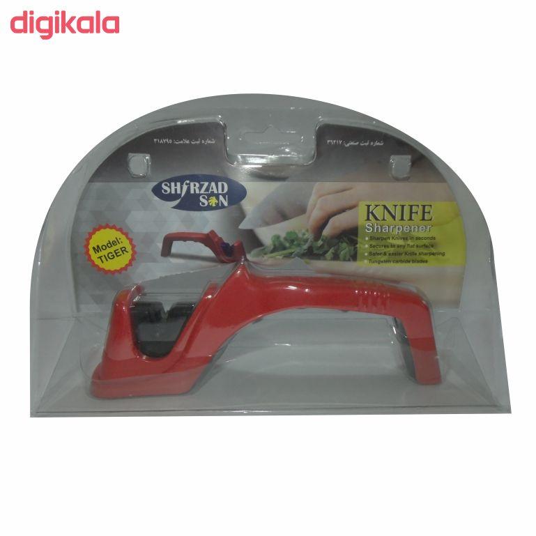 چاقو تیز کن دستی شیرزاد مدل TIGER main 1 2