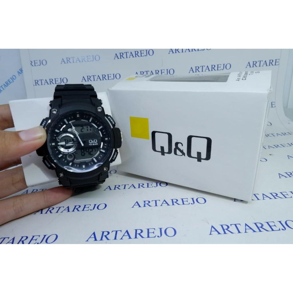 ساعت دیجیتال مردانه کیو اند کیو مدل cw-90j001