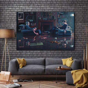 تابلو شاسی طرح سینما مدل شرلوک کد A158