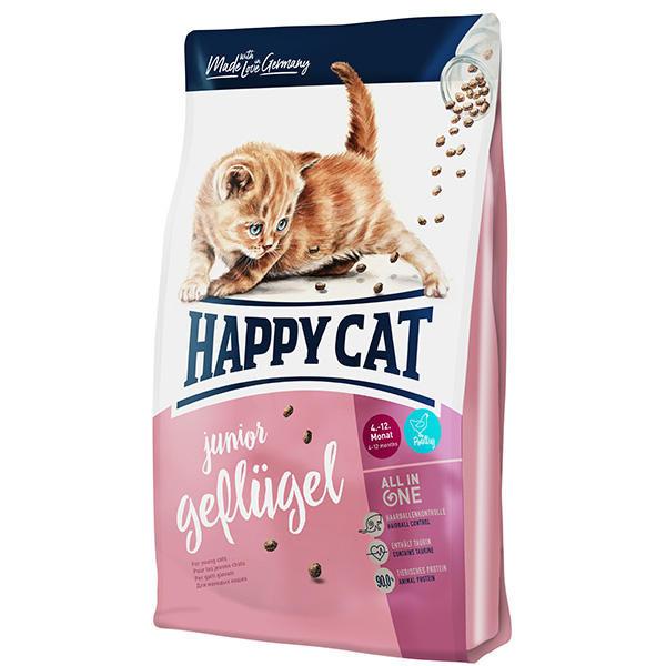 غذای خشک گربه هپی کت مدل Junior وزن 4 کیلوگرم