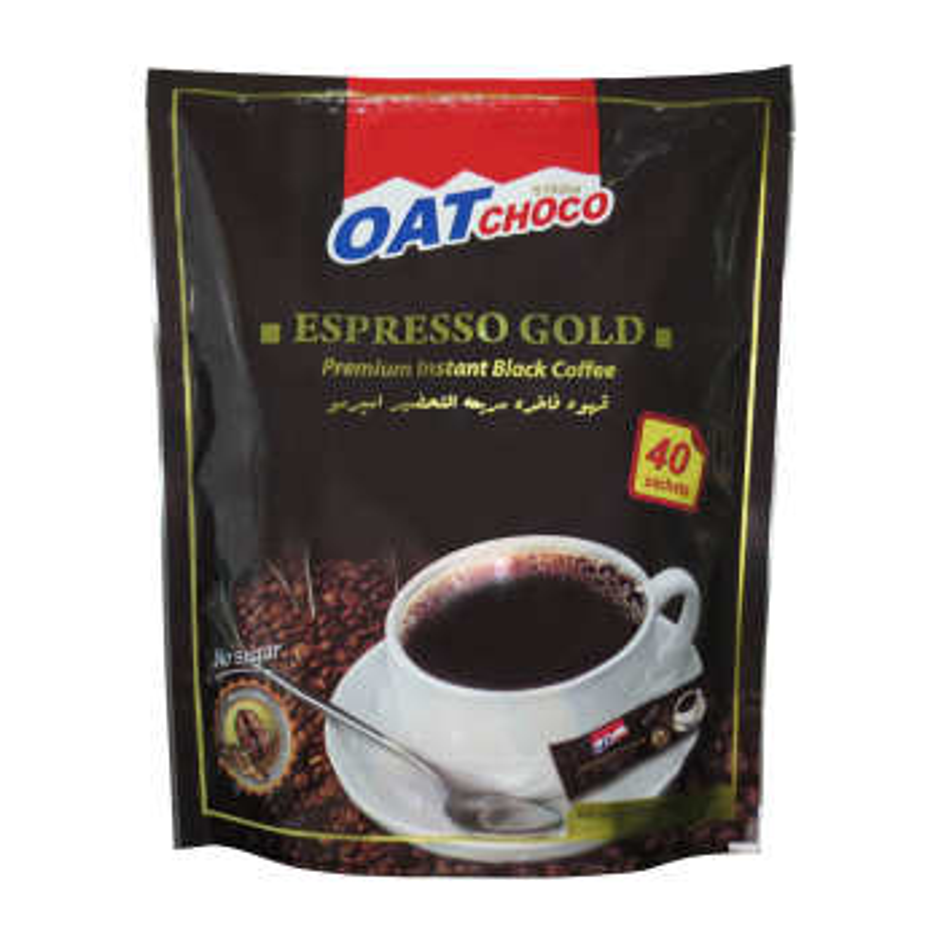 پودر قهوه فوری اوت چوکو بسته 40 عددی