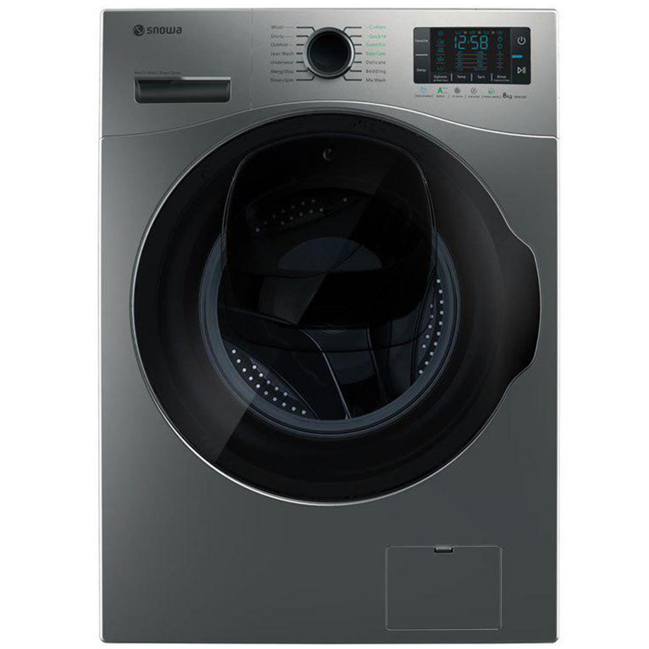 ماشین لباسشویی Wash in Wash اسنوا مدل SWM-842W ظرفیت 8 کیلوگرم