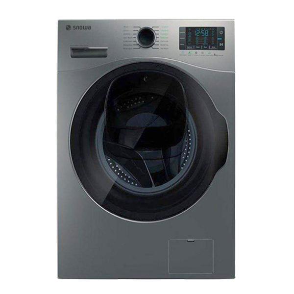 ماشین لباسشویی اسنوا مدل SWM-843W ظرفیت 8 کیلوگرم