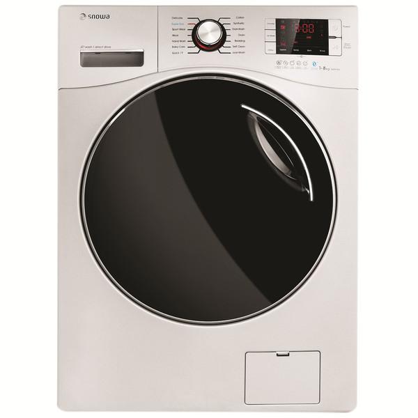 ماشین لباسشویی اسنوا مدل SWD-Octa W ظرفیت 8 کیلوگرم
