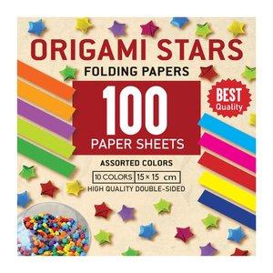 کاغذ اوریگامی استار کد 1515 بسته 100 عددی
