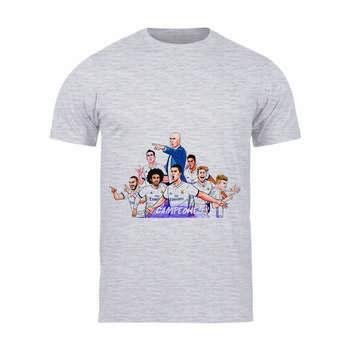 تی شرت آستین کوتاه مردانه طرح رئال مادرید کد 58 TM