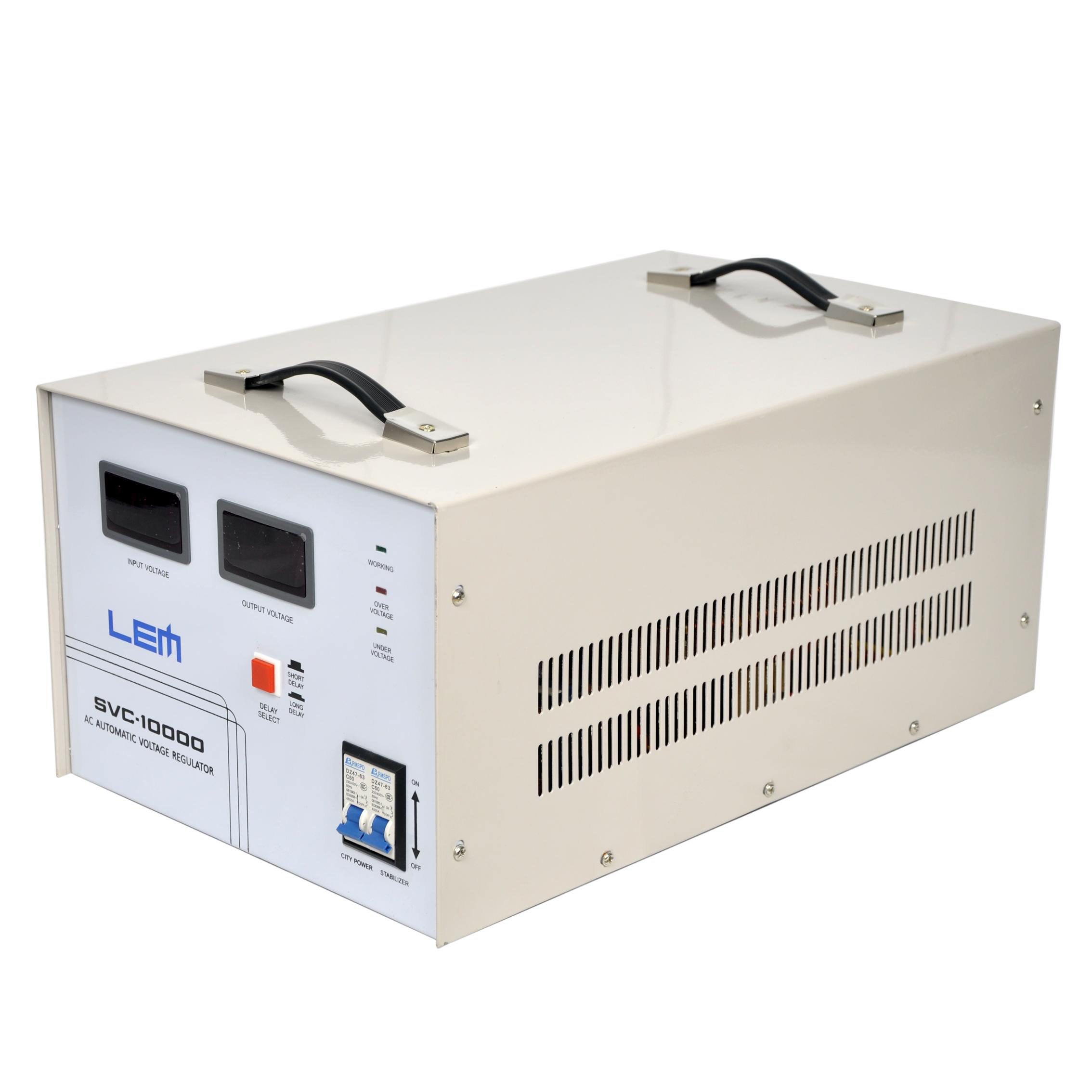 استابلایزر لم مدل SVC-10000 ظرفیت 10000 ولت آمپر