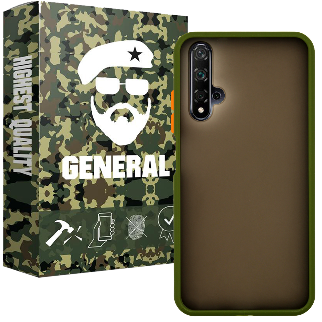 کاور ژنرال مدل M21 مناسب برای گوشی موبایل هوآوی Nova 5T