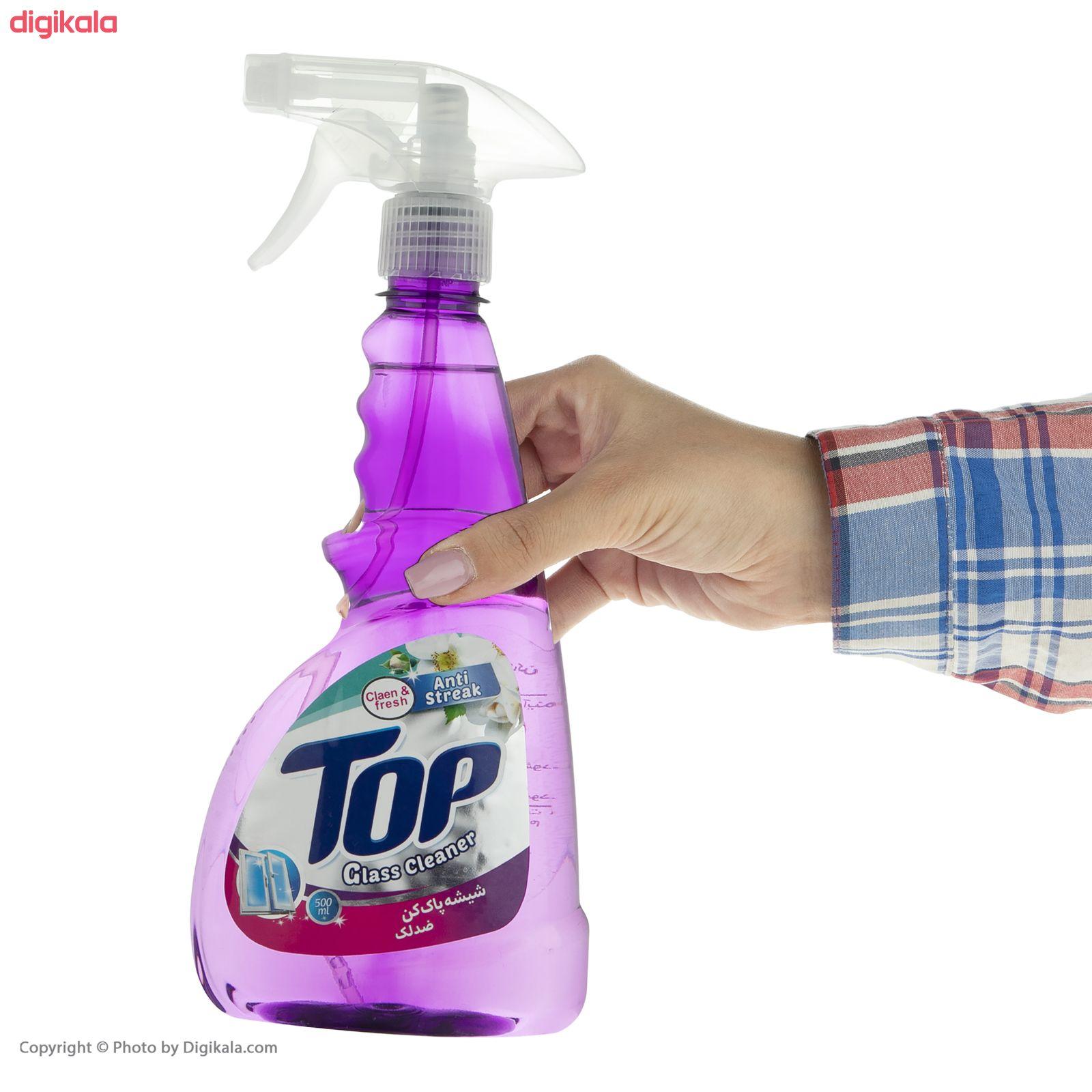 شیشه پاک کن تاپ کد 001 مقدار 500 گرم main 1 3