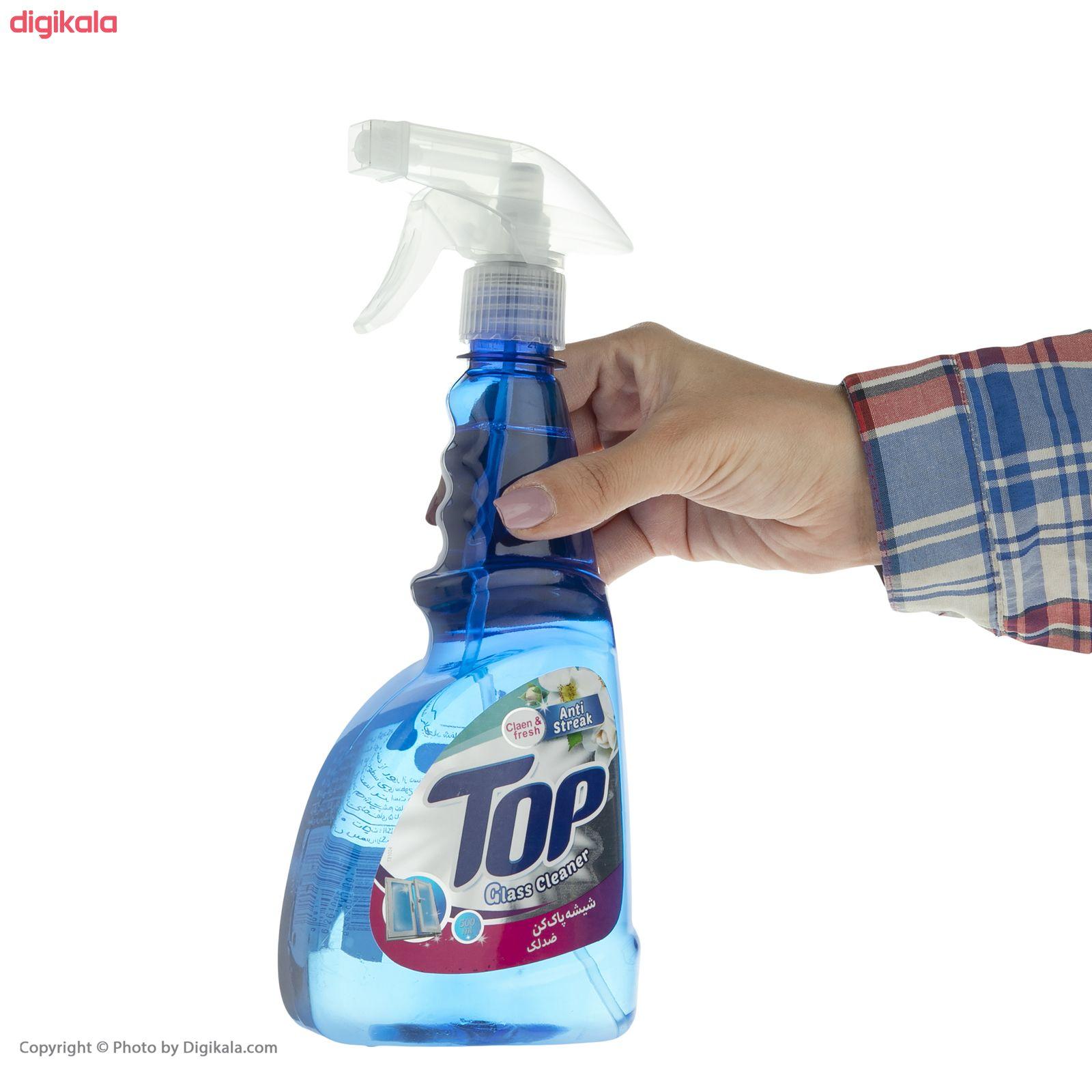 شیشه پاک کن تاپ کد 002 مقدار 500 گرم main 1 4