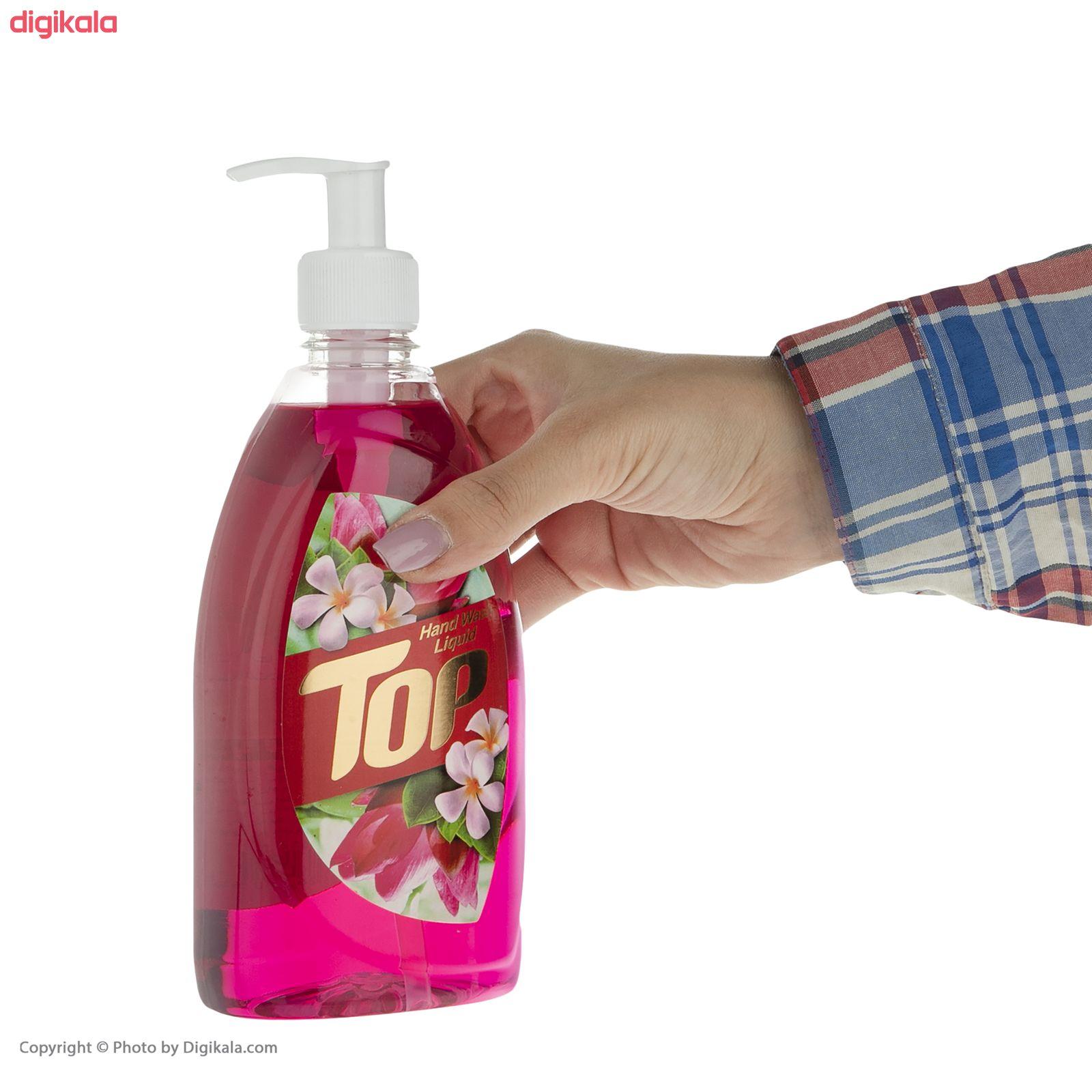 مایع دستشویی تاپ مدل  Pink مقدار 500 گرم main 1 2