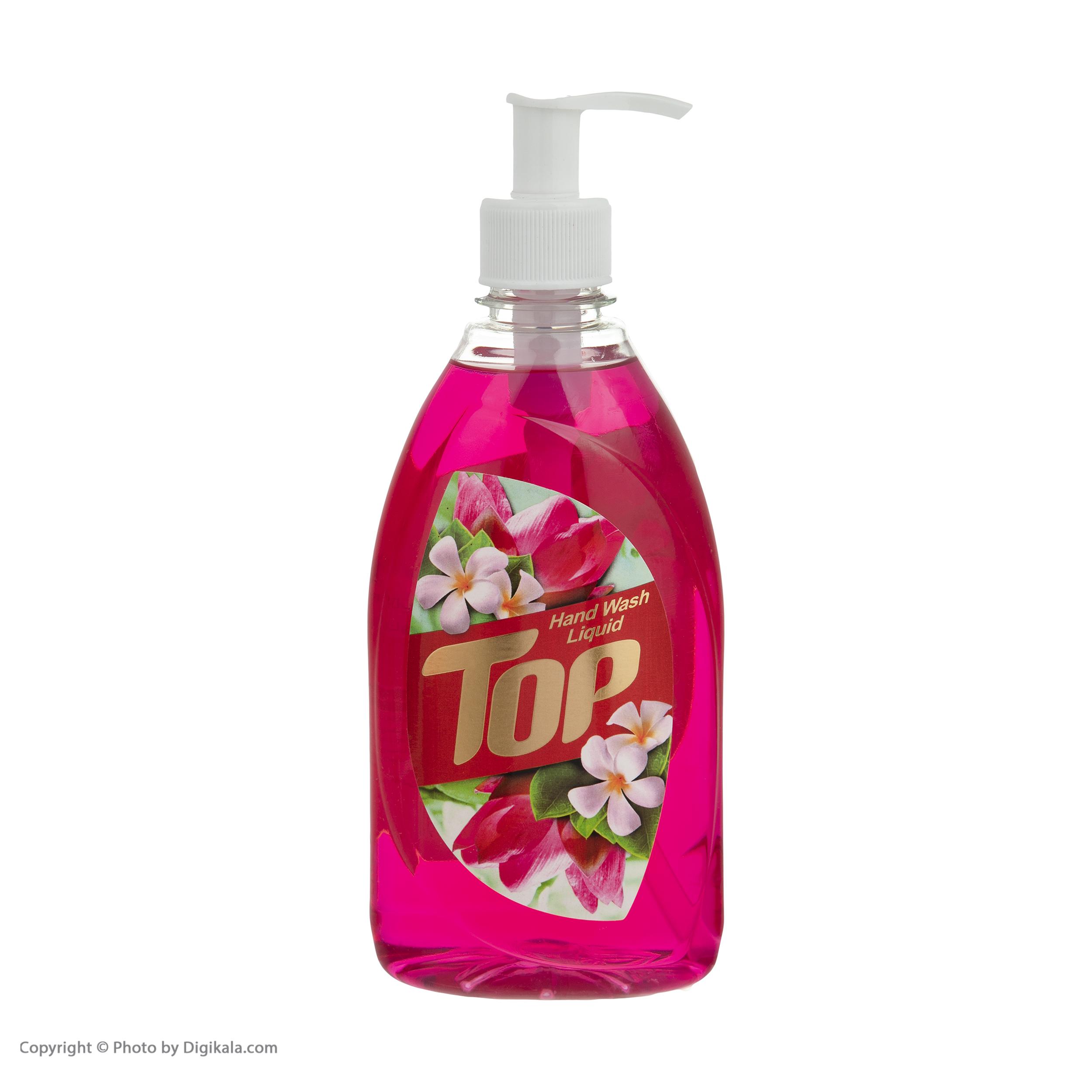 مایع دستشویی تاپ مدل  Pink مقدار 500 گرم main 1 3