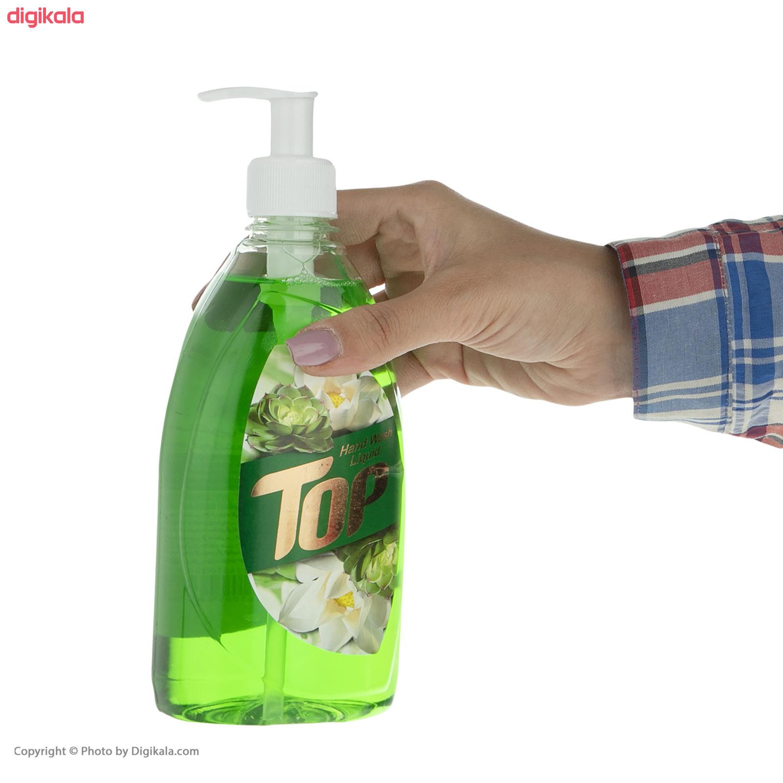 مایع دستشویی تاپ مدل Green مقدار 500 گرم main 1 2