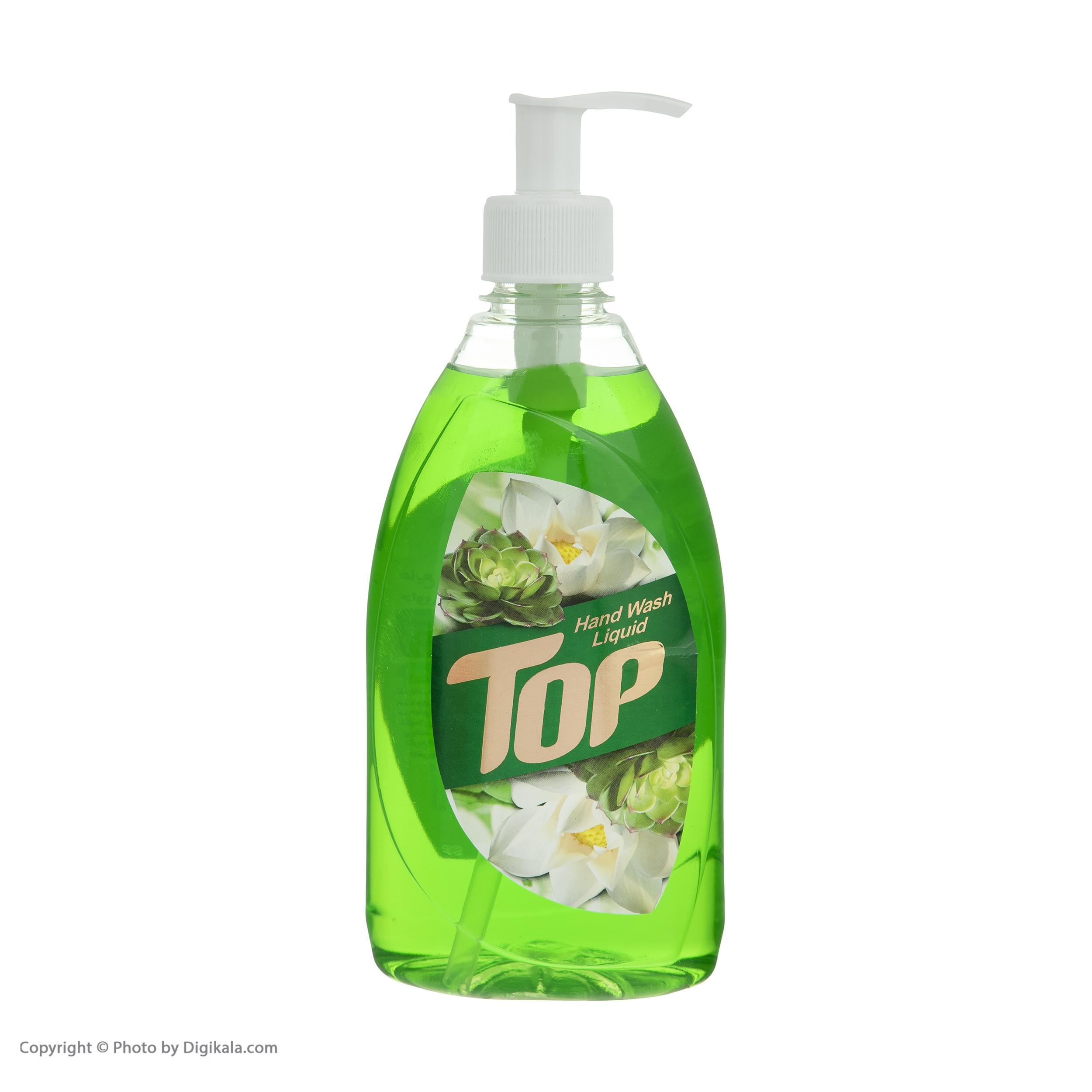 مایع دستشویی تاپ مدل Green مقدار 500 گرم main 1 4