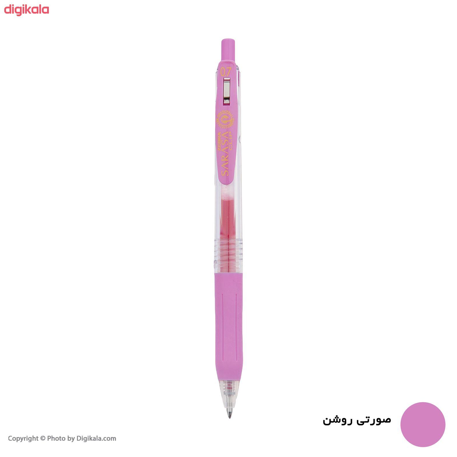 روان نویس زبرا مدل Sarasa Clip با قطر نوشتاری 0.7 main 1 3