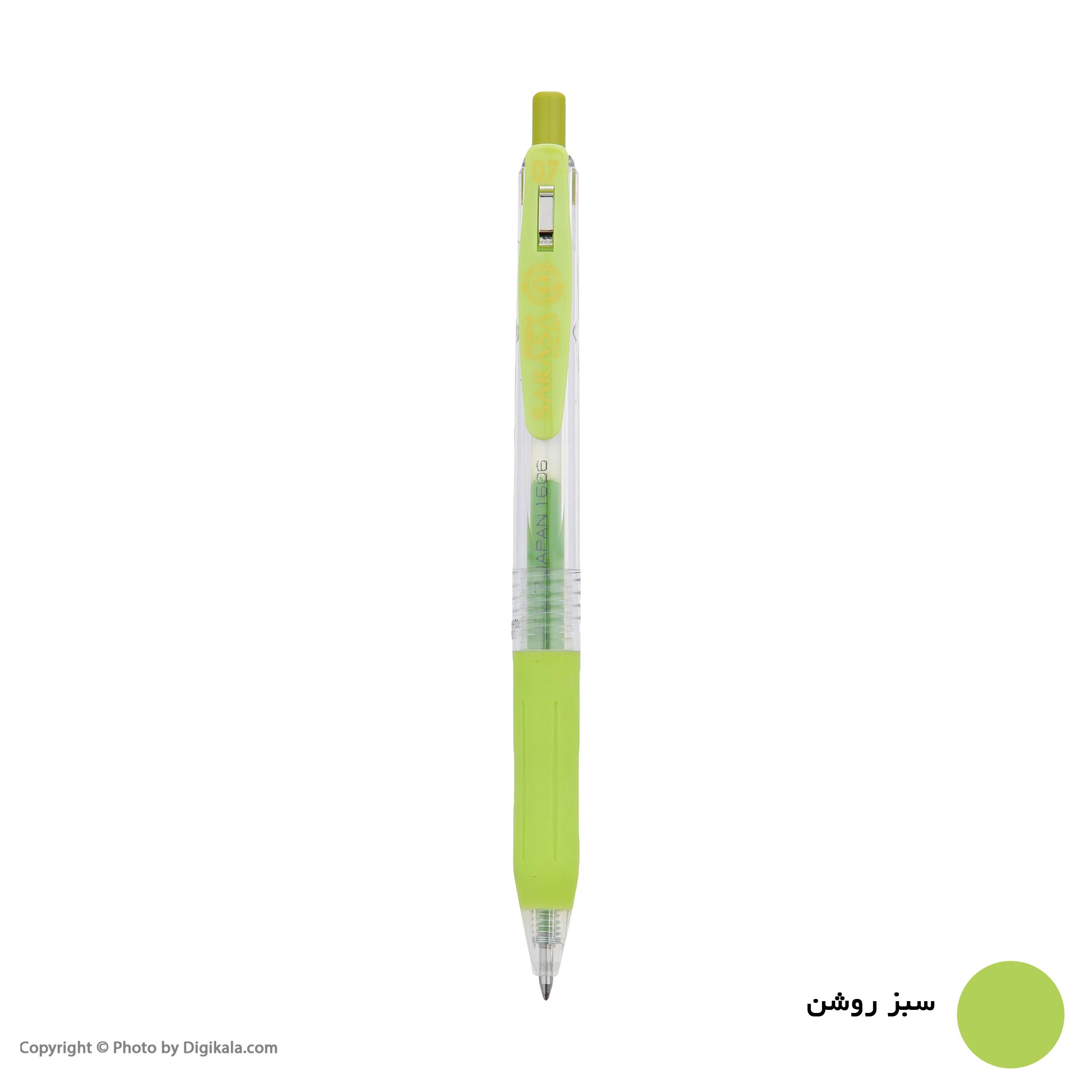 روان نویس زبرا مدل Sarasa Clip با قطر نوشتاری 0.7