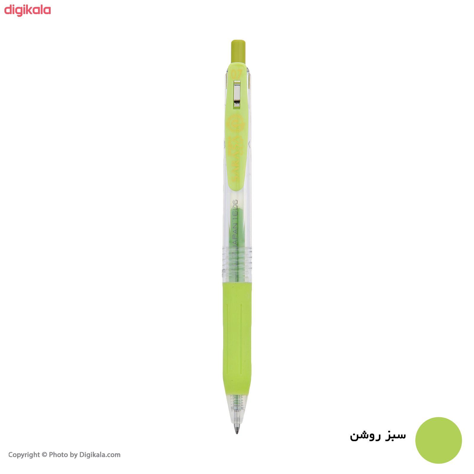روان نویس زبرا مدل Sarasa Clip با قطر نوشتاری 0.7 main 1 4