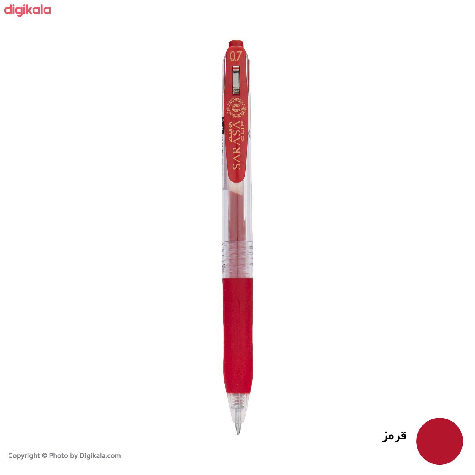 روان نویس زبرا مدل Sarasa Clip با قطر نوشتاری 0.7 main 1 6
