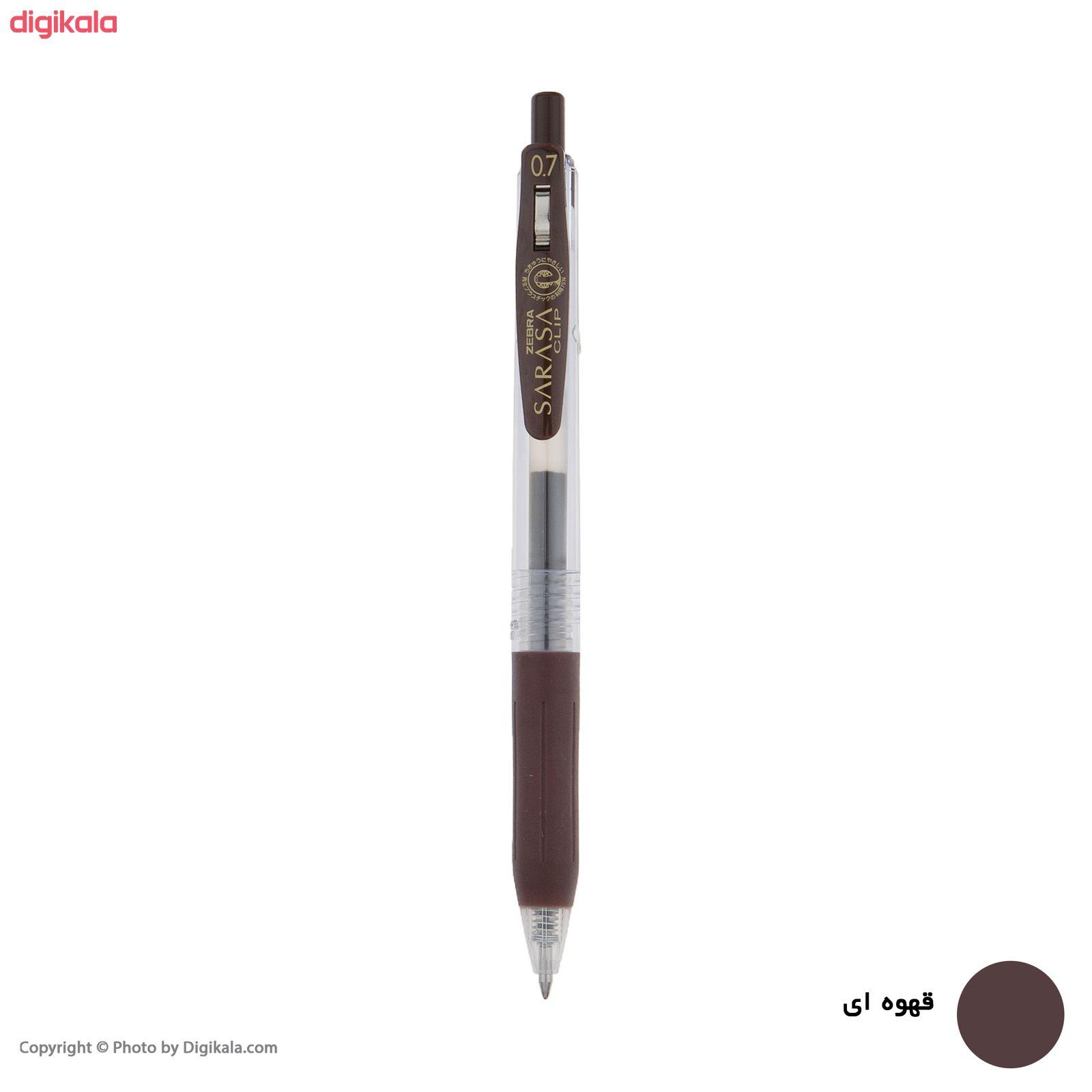 روان نویس زبرا مدل Sarasa Clip با قطر نوشتاری 0.7 main 1 7