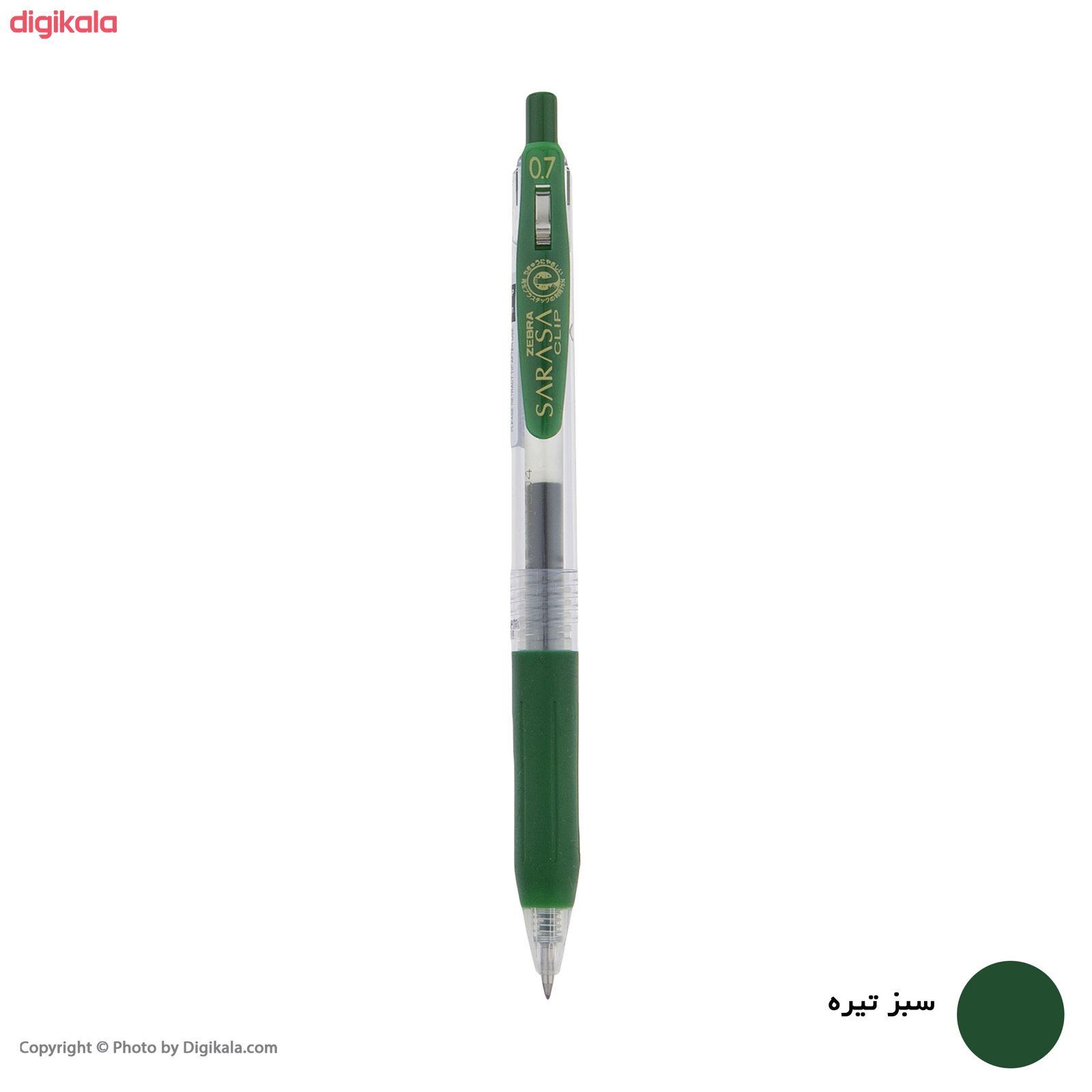 روان نویس زبرا مدل Sarasa Clip با قطر نوشتاری 0.7 main 1 8