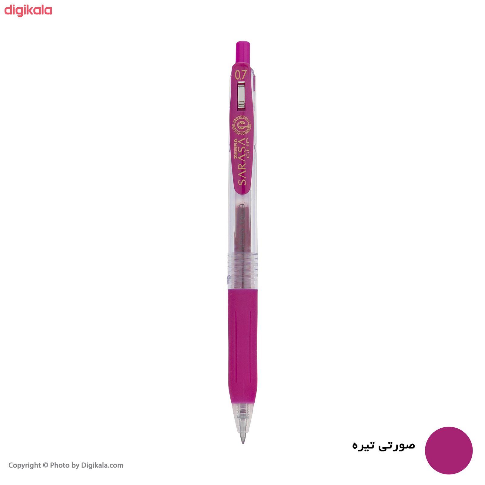 روان نویس زبرا مدل Sarasa Clip با قطر نوشتاری 0.7 main 1 11