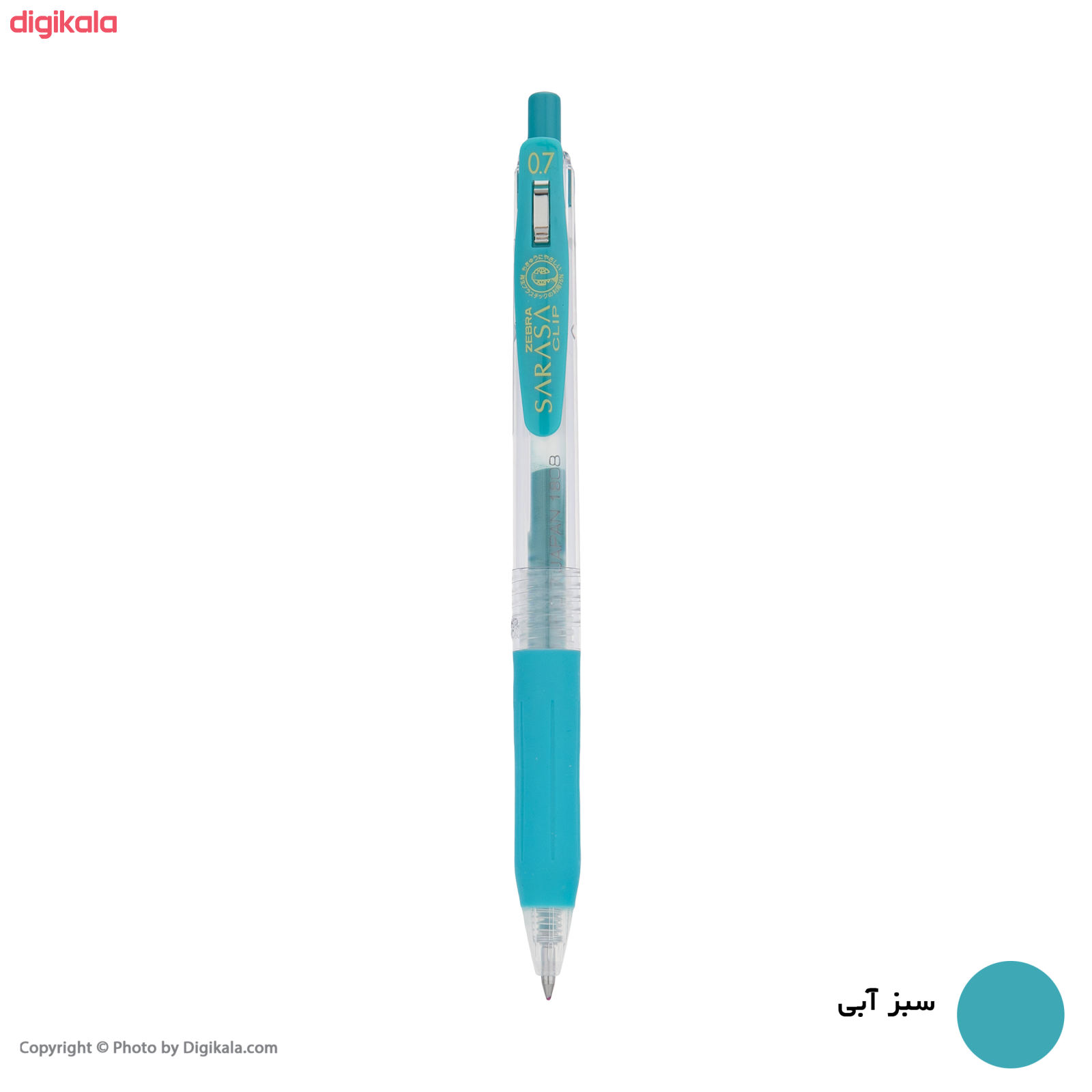 روان نویس زبرا مدل Sarasa Clip با قطر نوشتاری 0.7 main 1 12