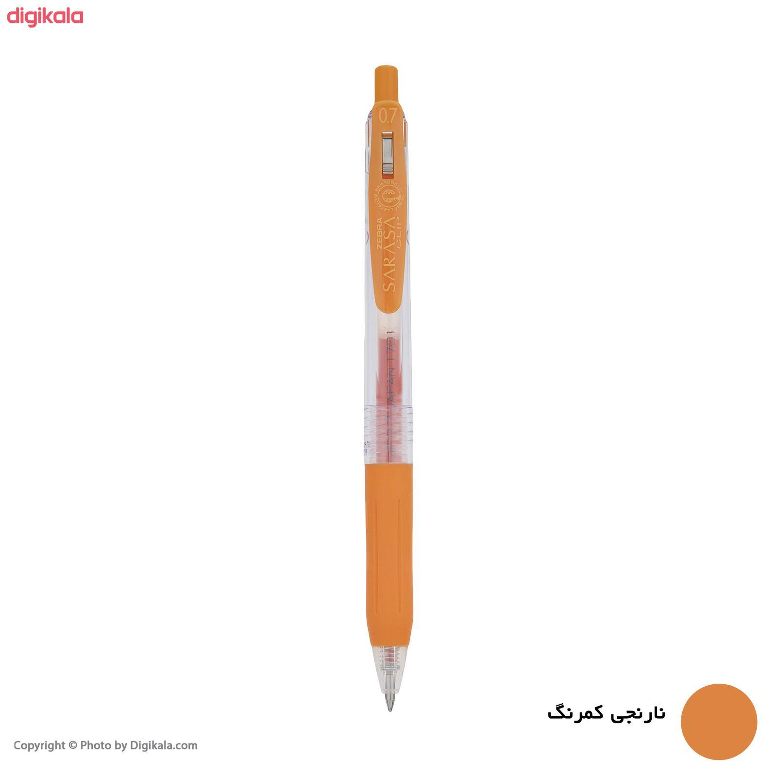 روان نویس زبرا مدل Sarasa Clip با قطر نوشتاری 0.7 main 1 13