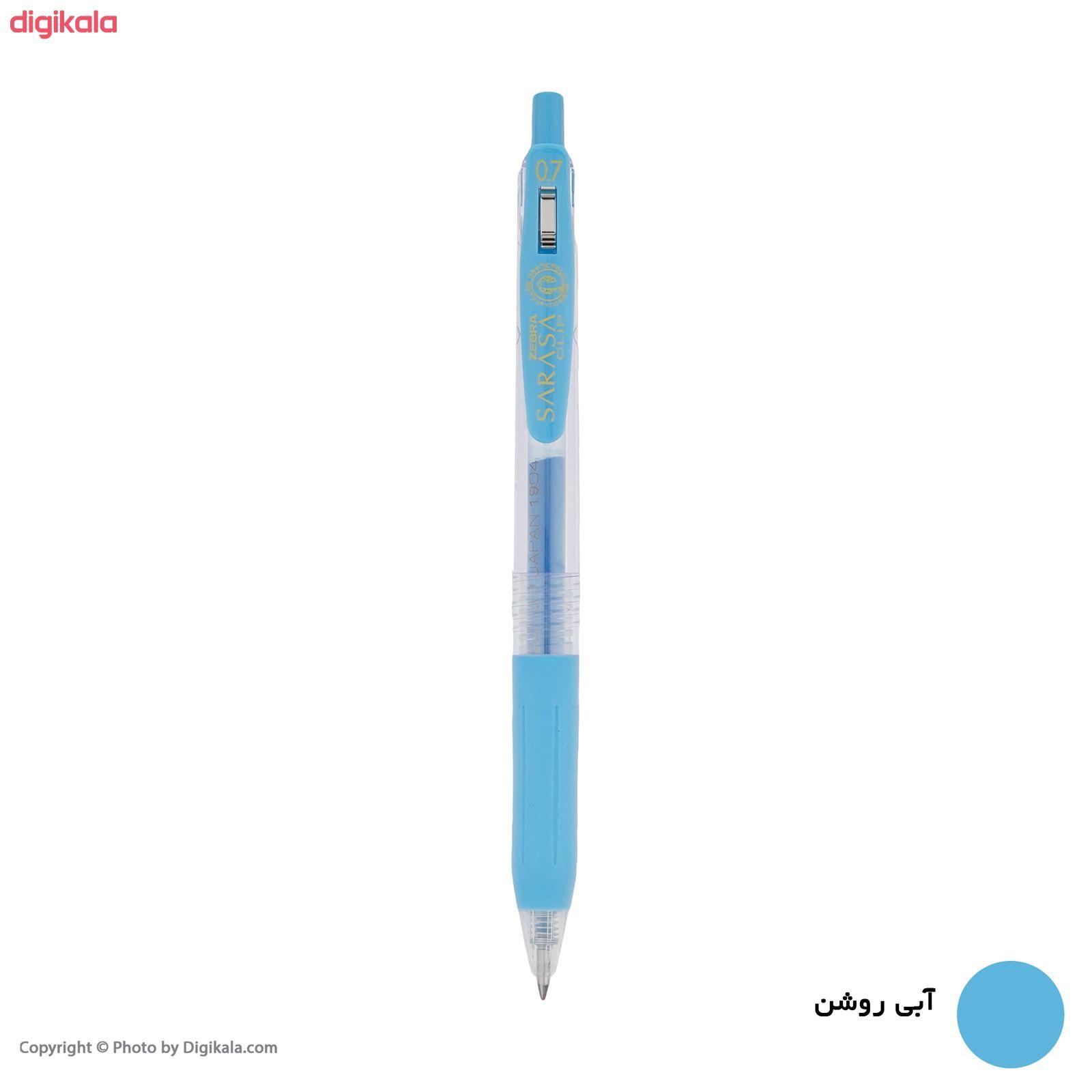 روان نویس زبرا مدل Sarasa Clip با قطر نوشتاری 0.7 main 1 14