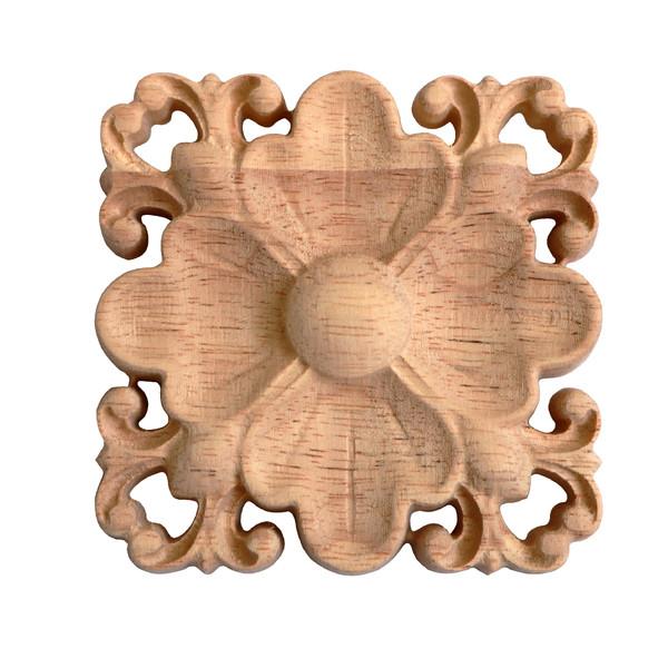 گل منبت کاری مدل چهاربرگ کد  ۹- D ۳۶
