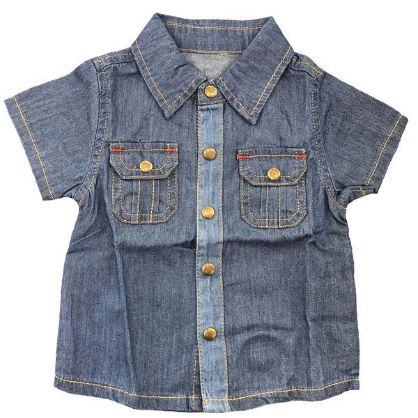 پیراهن پسرانه مدل کولاک کد 52136