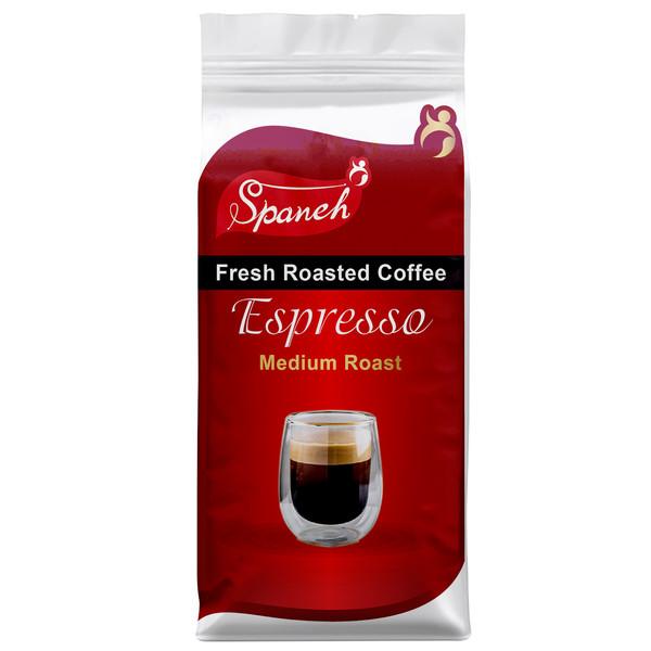 دانه قهوه اسپرسو مدیوم اسپانه - 200 گرم