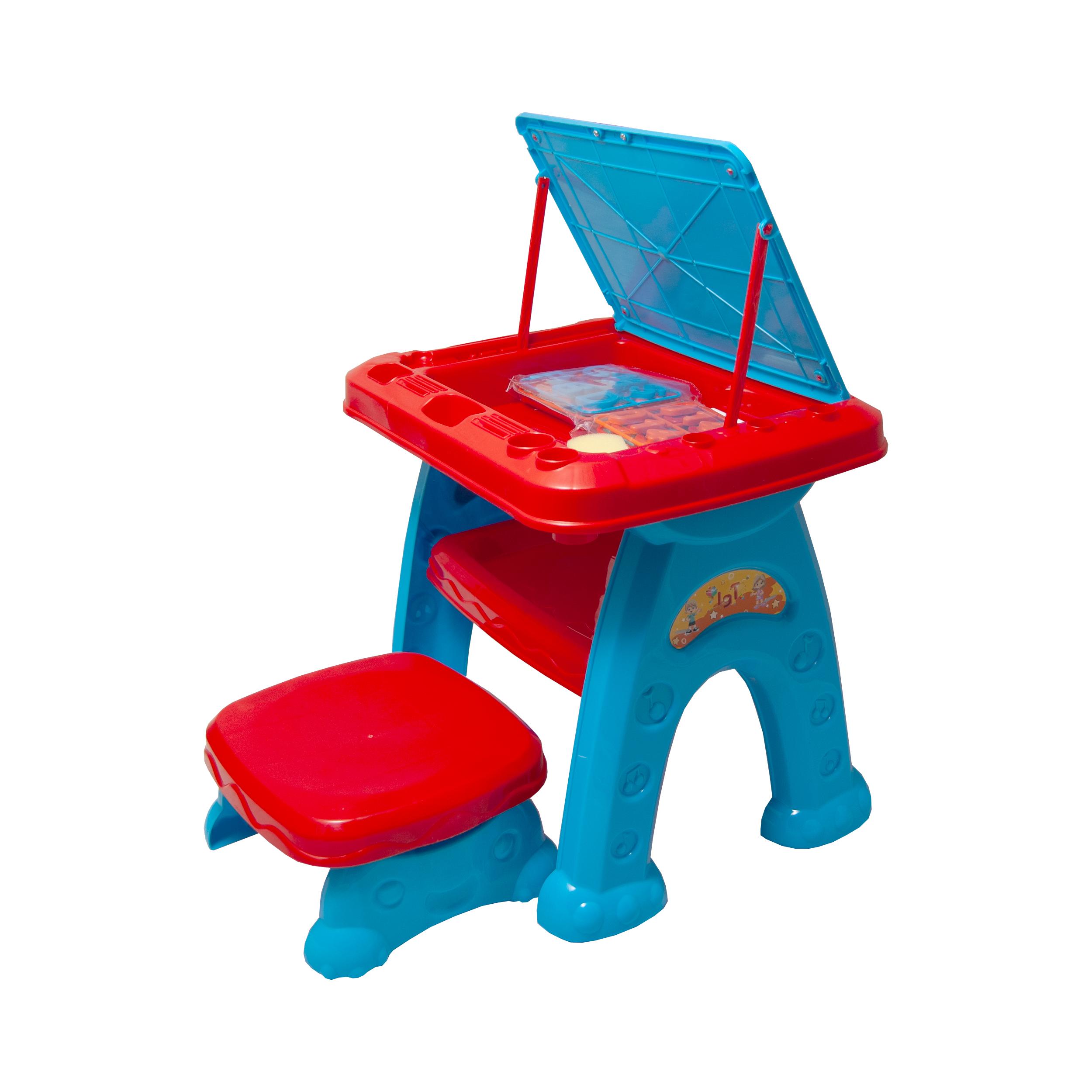میز و صندلی تحریر کودک آوا مدل AMT1213 کد 1 thumb
