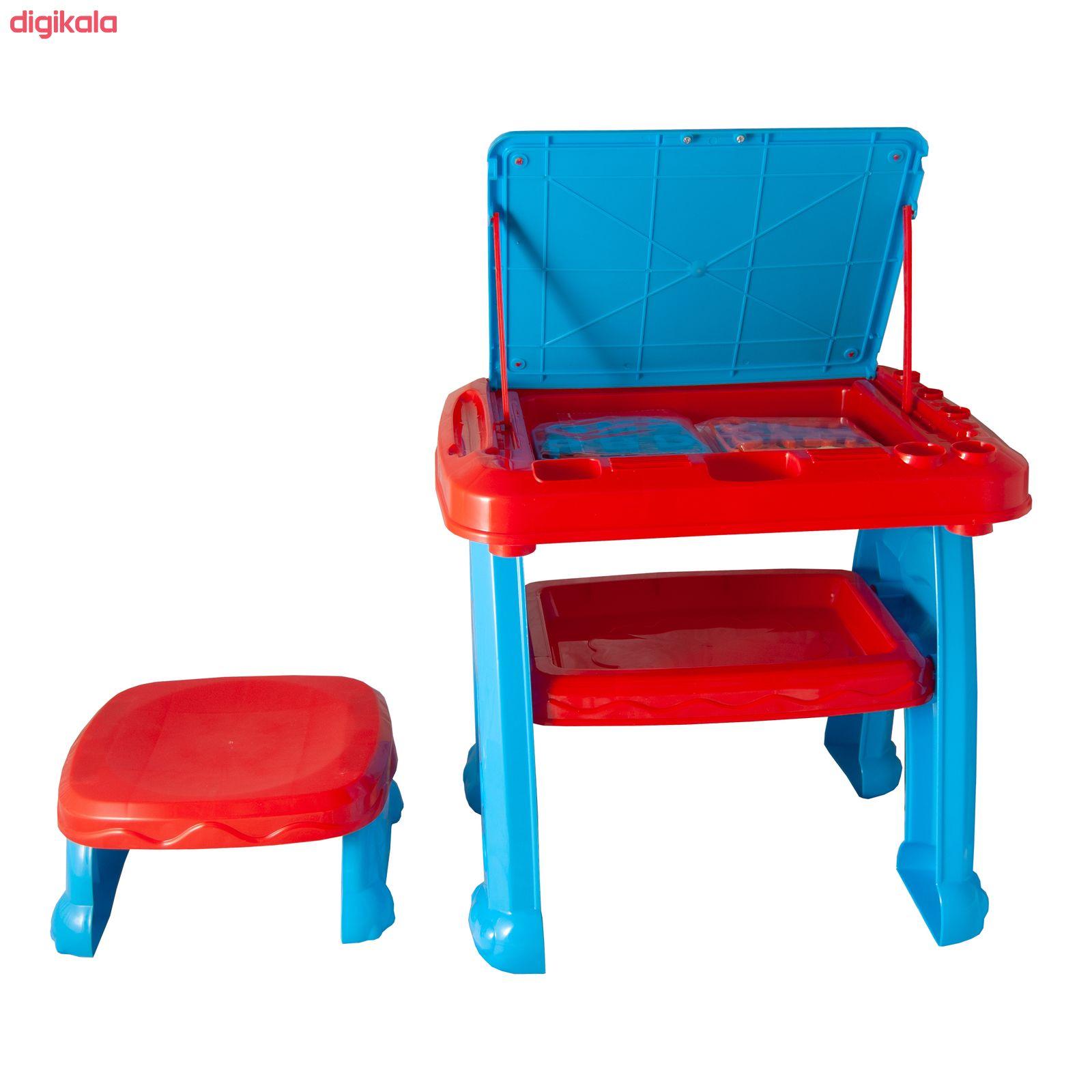 میز و صندلی تحریر کودک آوا مدل AMT1213 کد 1 main 1 2