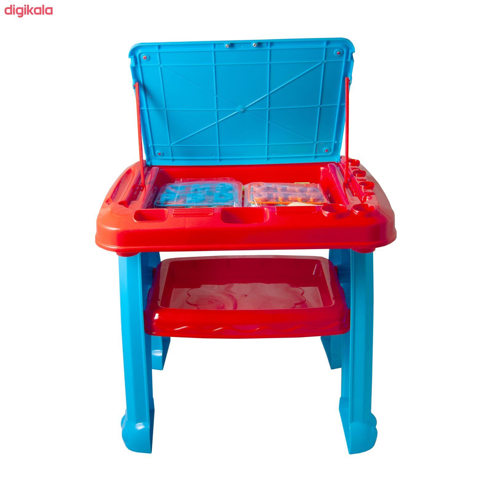 میز و صندلی تحریر کودک آوا مدل AMT1213 کد 1 main 1 4