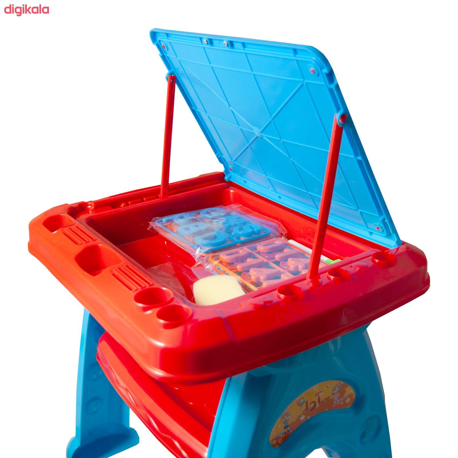 میز و صندلی تحریر کودک آوا مدل AMT1213 کد 1 main 1 5