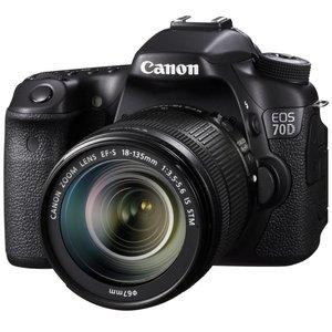 دوربین عکاسی کانن مدل EOS 70D+لنزSTM 18-135 میلی متر