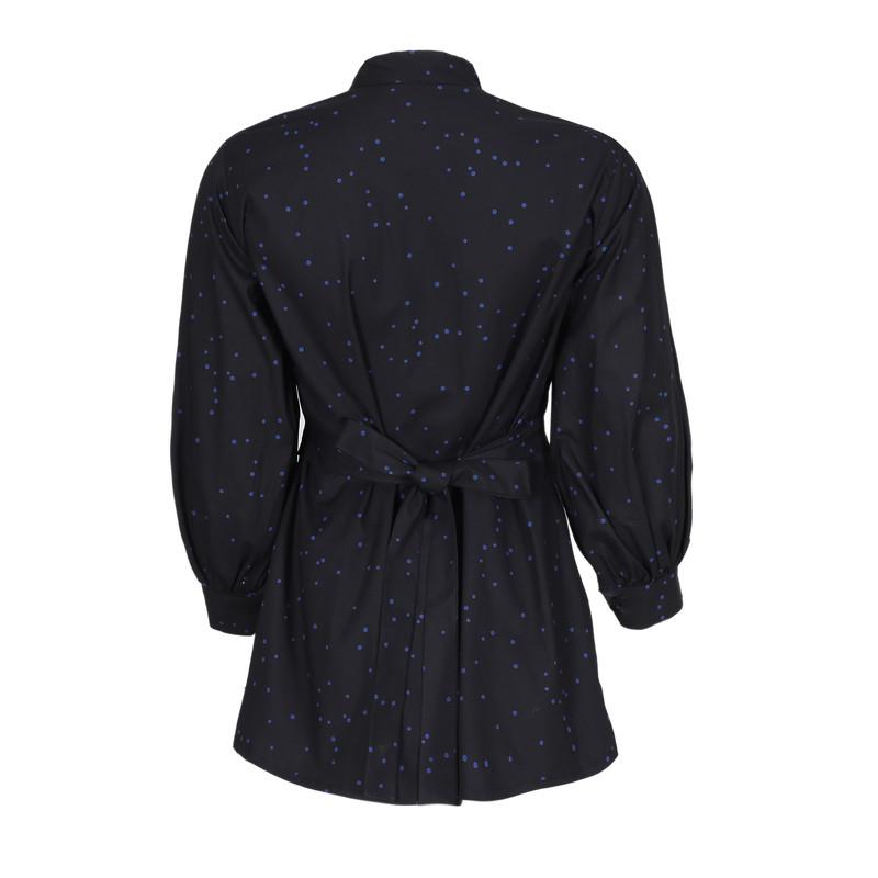 پیراهن زنانه ناوالس کد Dots-bl