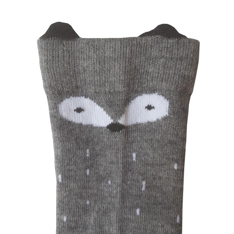 جوراب دخترانه ال سون طرح روباه کد PH369