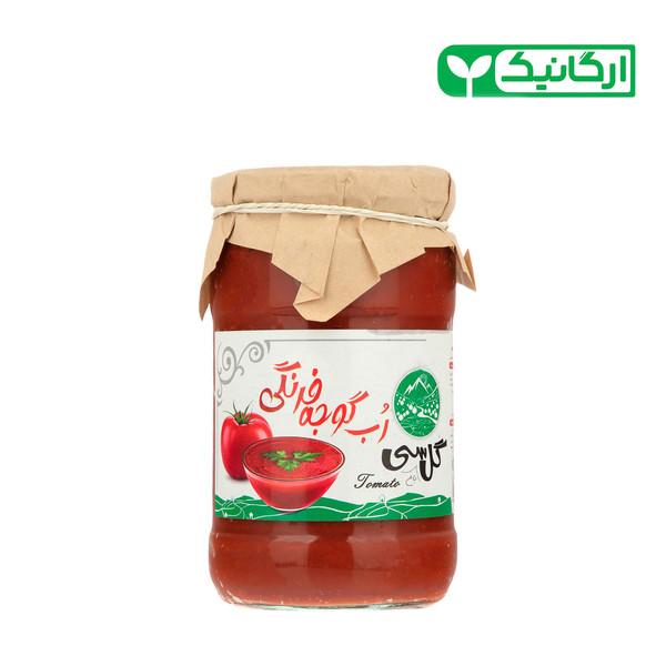 رب گوجه فرنگی ارگانیک گل باغ سی - 700 گرم