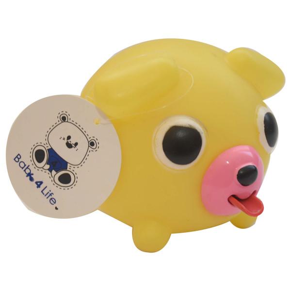 عروسک حمام بیبی فور لایف مدل خوک زبان دراز کد 1776.2